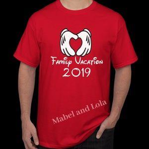 Mabel and Lola Shirts & Tops - Matching Family Vacation T-Shirts 2019 Kids